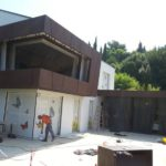 Korten fasadni pločevina