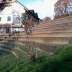 Primer končane terase iz pločevine
