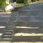 Stopnice na terasah