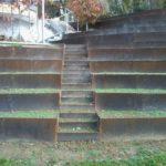 Stopnice v terasi